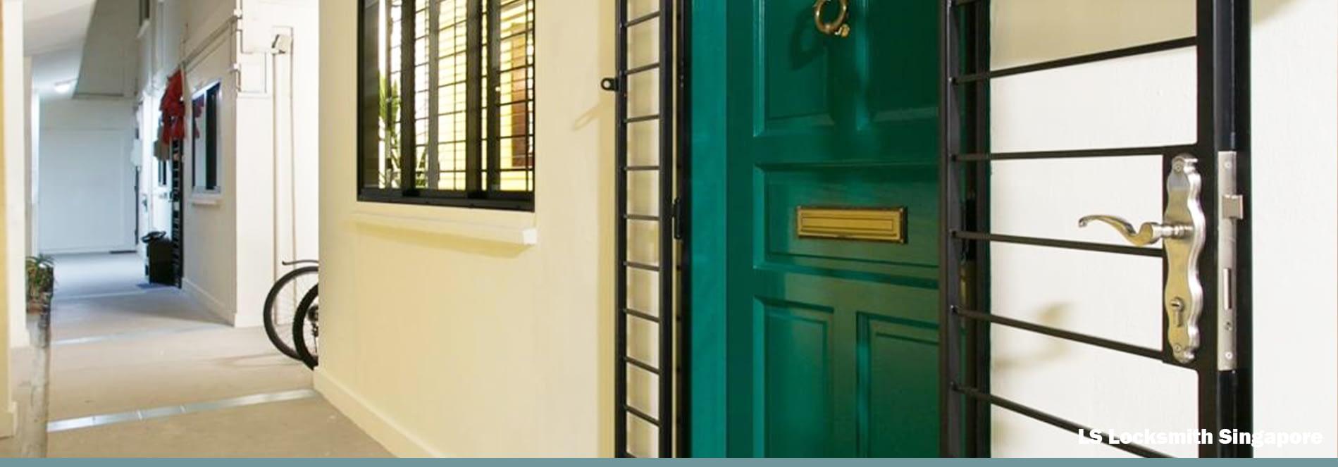 HDB Main Door Lock Replacement