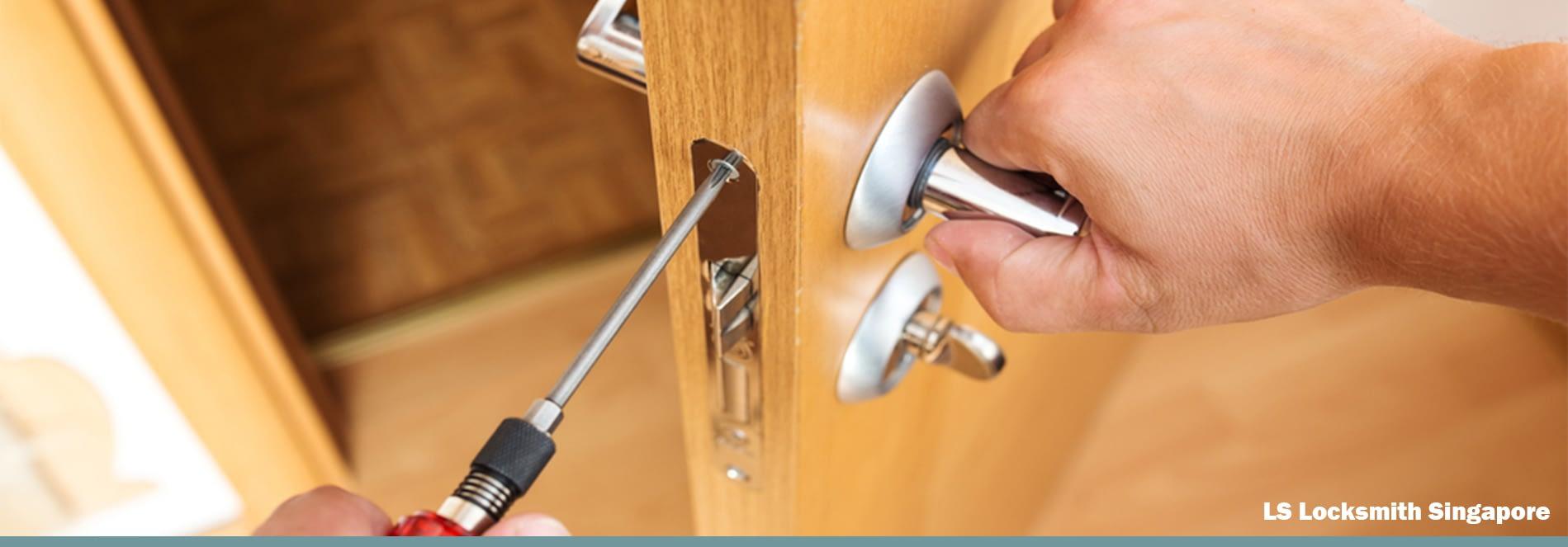 HDB Toilet Door Lock Replacement